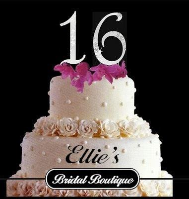 Ellie's Bridal Boutque celebrates it's 16th Birthday!