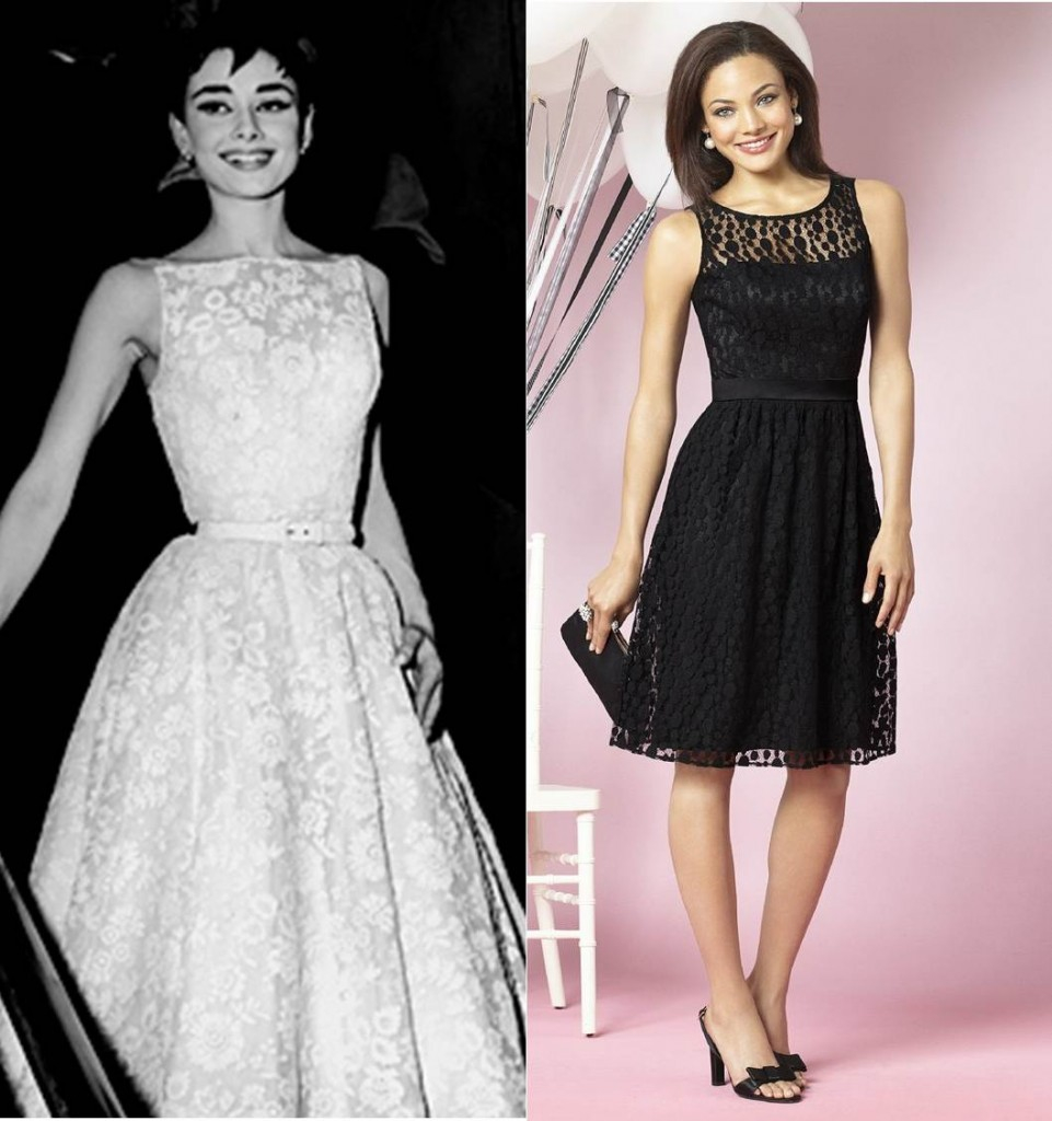 You'll never fail to look super cute when you take a page from Audrey Hepburn's book. After Six 6631 is here to help!