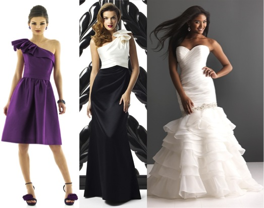 How fashion trends translate to Bridal Attire #ruffles – via Ellie's Bridal Blog