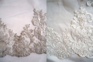 Before & After: Gown Cleaning from Ellie's Bridal Boutique