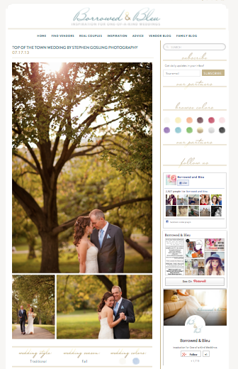 Georgeanne & Char's Laid-Back Autumn Wedding