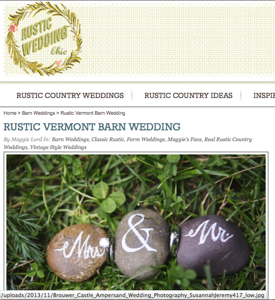 Copy of Rustic Vermont Barn Wedding