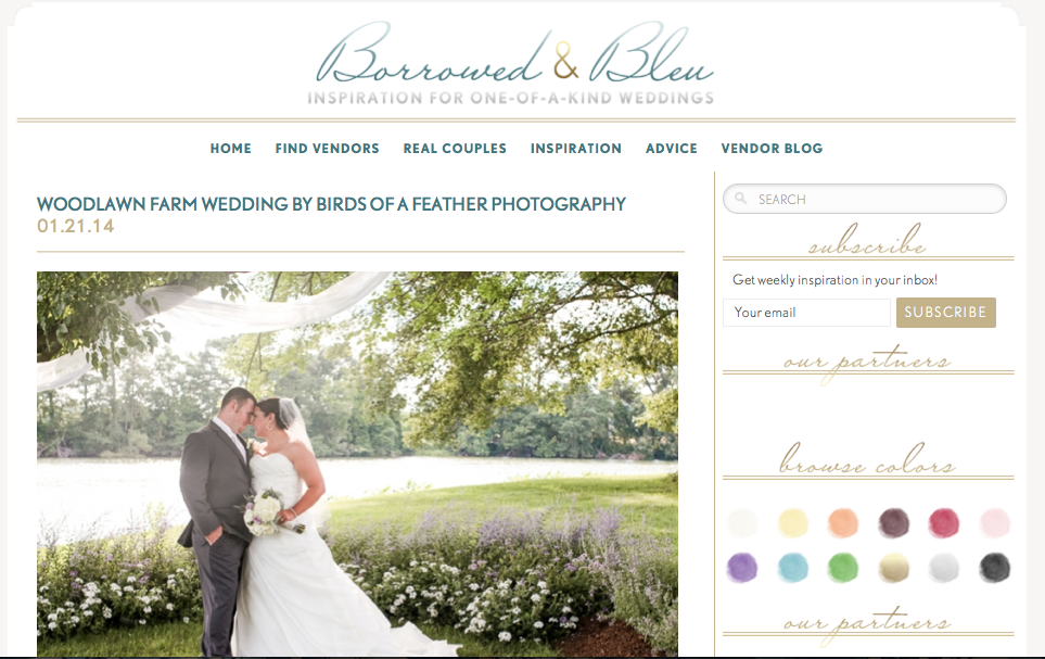 Copy of Woodlawn Farm Wedding by Birds of a Feather Photography