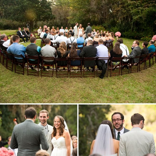 Kelly + Jeremy on October 12, 2013 ♥ Reese Moore Weddings at Magnolia Plantation (Charleston, SC)