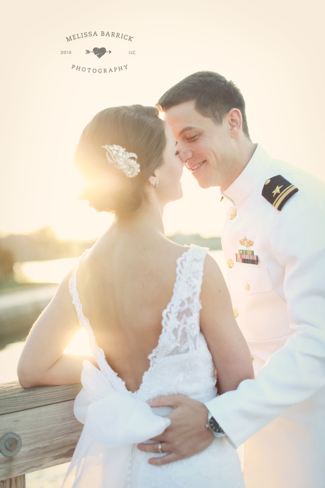 Brittany + Chris on April 6, 2013 ♥ Melissa Barrick Photography at US Naval Academy Chapel (Annapolis, MD)