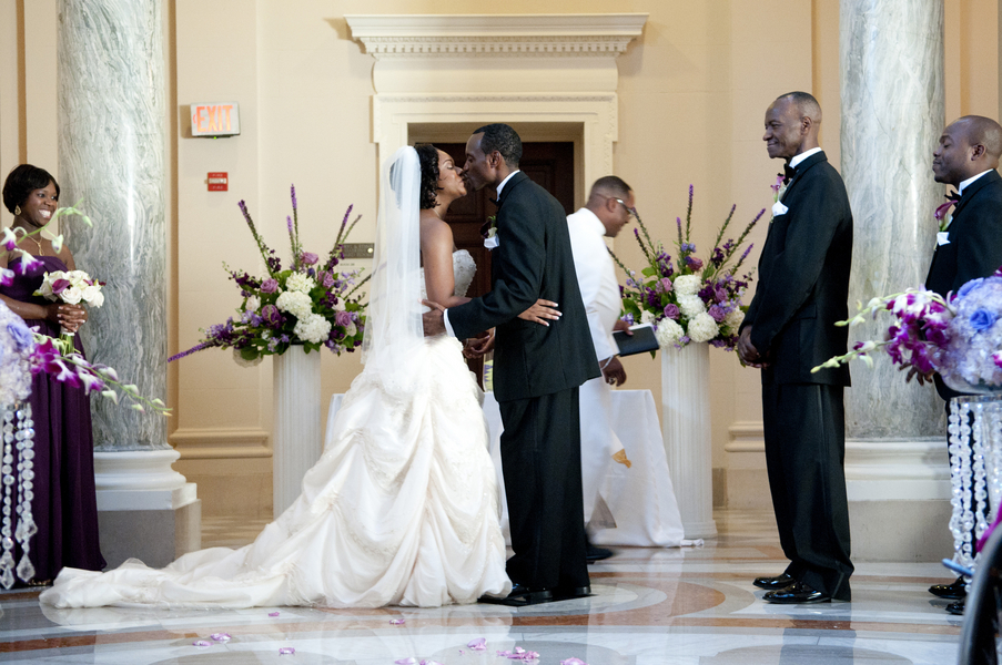Cheree + Jamaal on August 28, 2011 ♥ Love Life Images at Carnegie Institution for Science (Washington, DC)