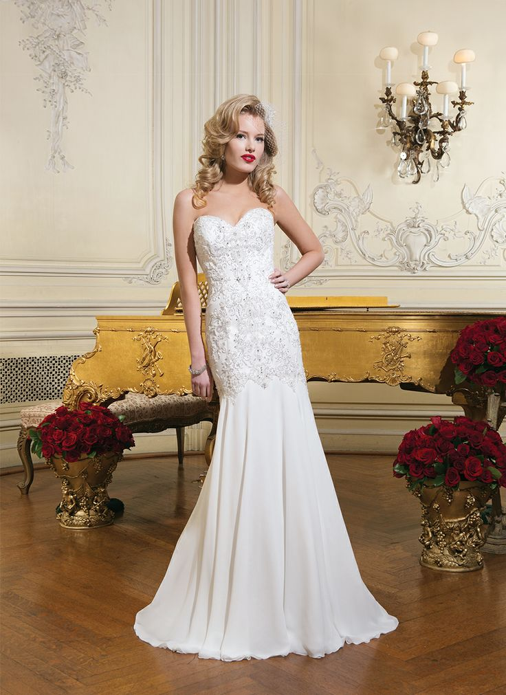 Style 8731 by Justin Alexander   -- Wedding Dresses under $4,000 at Ellie's Bridal Boutique (Alexandria, VA)