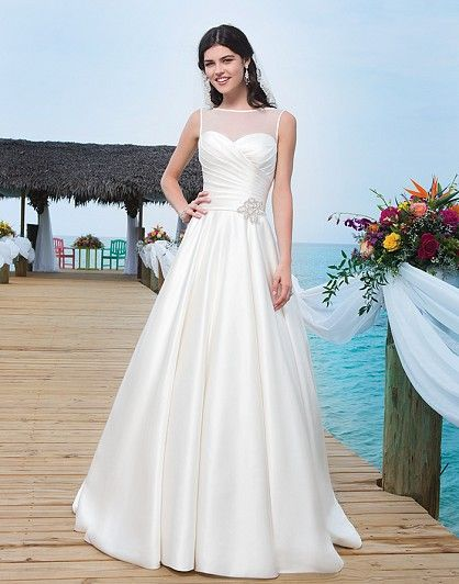 Style 3787 by Sincerity  – Wedding Dresses under $4,000 at Ellie's Bridal Boutique (Alexandria, VA)