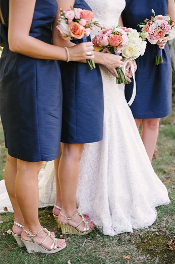 Holly's Bridesmaids on September 6, 2014 ♥ Britt Croft Photography in Charlotte Hall, MD