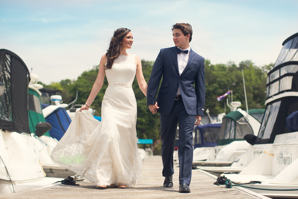 "TinaRose Events ""Nautical Chic"" Styled Shoot Editorial  ♥ Judah Avenue Photography at Harbour View (Woodbridge, VA)"