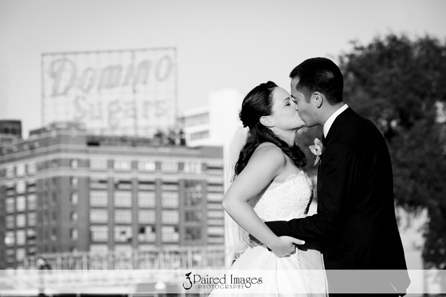 Colleen + Scott on August 16, 2014 ♥ Paired Images Photography at the Baltimore Museum of Industry (Baltimore, MD)