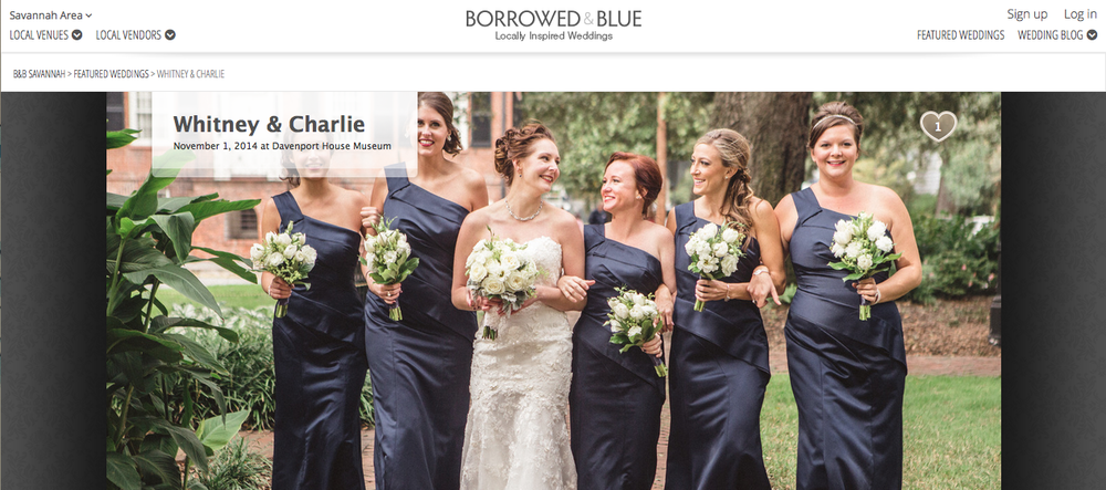 Whiteney & Charlie's Savannah wedding