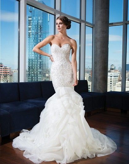 Signature by Justin Alexander (Under $5000) – find it at Ellie's Bridal Boutique