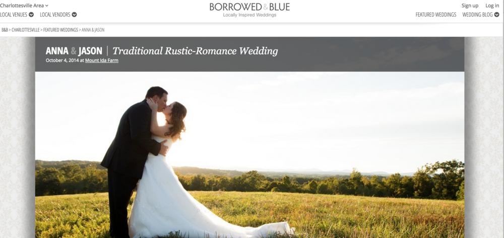 http://www.borrowedandblue.com/charlottesville/weddings/anna-jason
