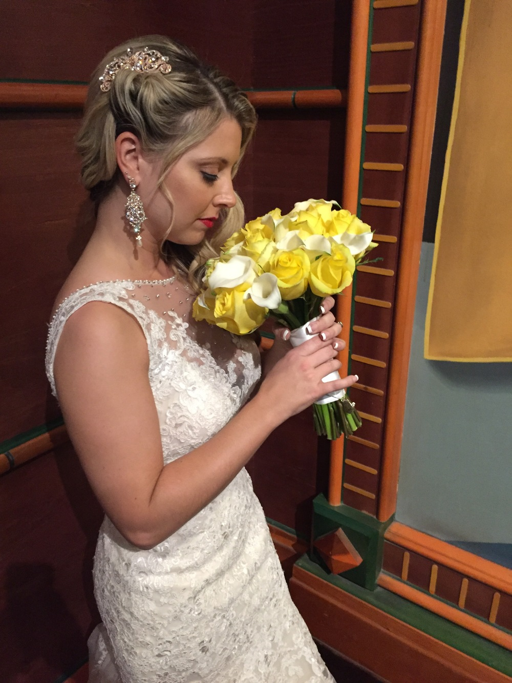 Halie's Las Vegas wedding on October 14, 2015