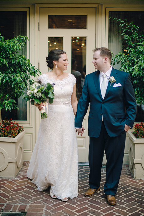 Liz + Ben on June 31, 2015 ♥ Kristen Gardner Photography at Hotel Monaco (Alexandria, VA)