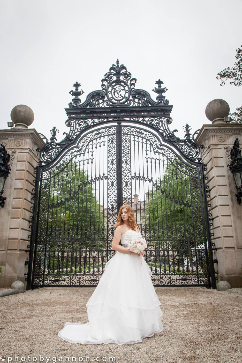 Jennifer + Tim  on June 28, 2015 ♥ Photo by Gannon at The Chanler at Cliff Walk (Newport, RI)