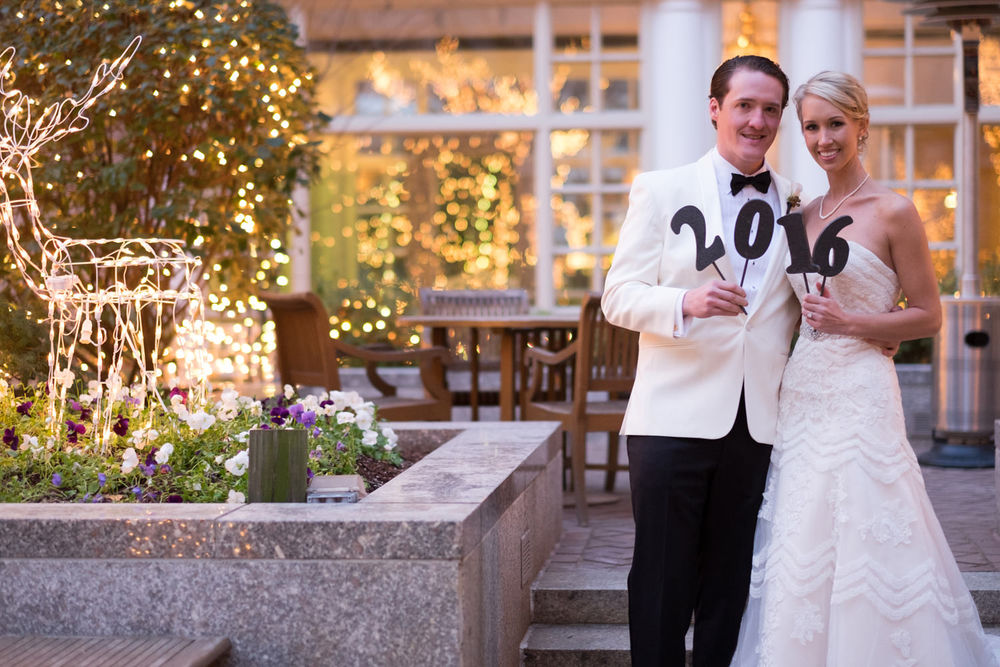 Karen + Joe on January 1, 2016 ♥ Tim Riddick at The Fairmont (NW DC)