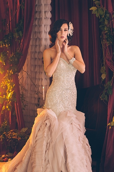 """Vaudeville Inspired"" Styled Shoot by Capital Society ♥ Sarah Price Photography"