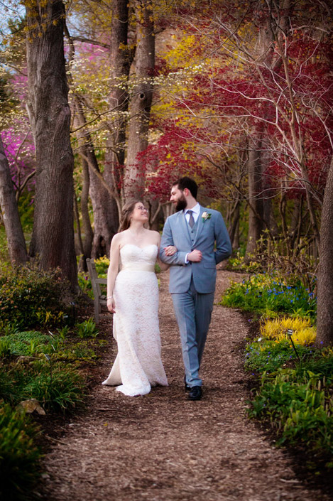 Kelsey + Chase on April 4, 2016  ♥ Mollie Tobias Photography at Meadowlark Botanical Gardens (Vienna, VA)