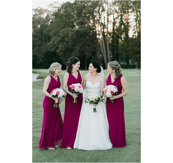 Cristin + Levi on November 5, 2016 ♥ Echard Wheeler Photography at Princess Anne Country Club (Virginia Beach, VA)