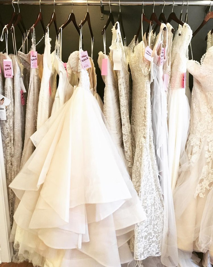 Annual Spring Sample Sale — Ellie\'s Bridal Boutique – The Best of ...