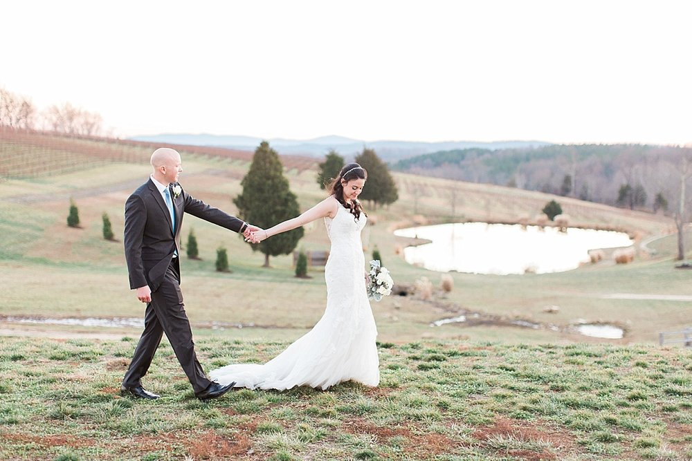Allyson + Dane on December 10, 2016 ♥ Abby Grace Photography at Stone Tower Winery (Leesburg, VA)