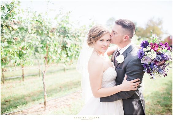 Sierra + Steven on September 25, 2016  ♥ Katrina Graham Photography at Robin Hill Farm & Vineyard (Brandywine, MD)
