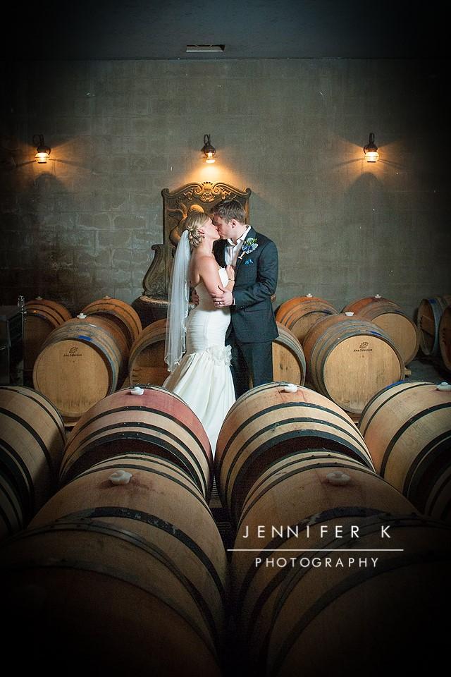 Rebecca + Corey on June 3, 2017 ♥ Jennifer K Photography at Elkin Creek Vineyard (Elkin, NC)