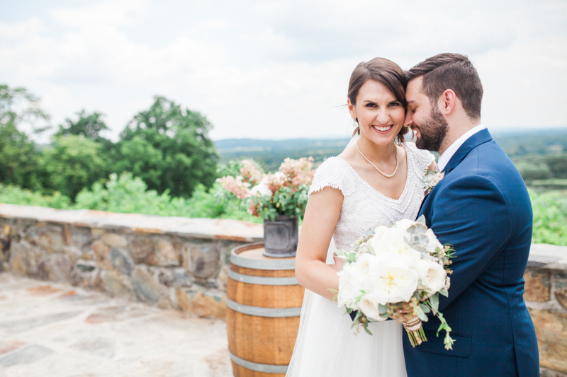 Emma + Ryan on July 2, 2017 ♥ Birds of a Feather Photography at The Stable at Bluemont Vineyard (Bluemont, VA)