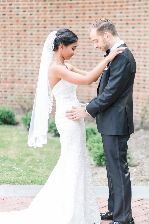 Kalani + Matt on August 5, 2017 ♥ Angie McPherson Photography at The Wren Chapel (Williamsburg, VA)