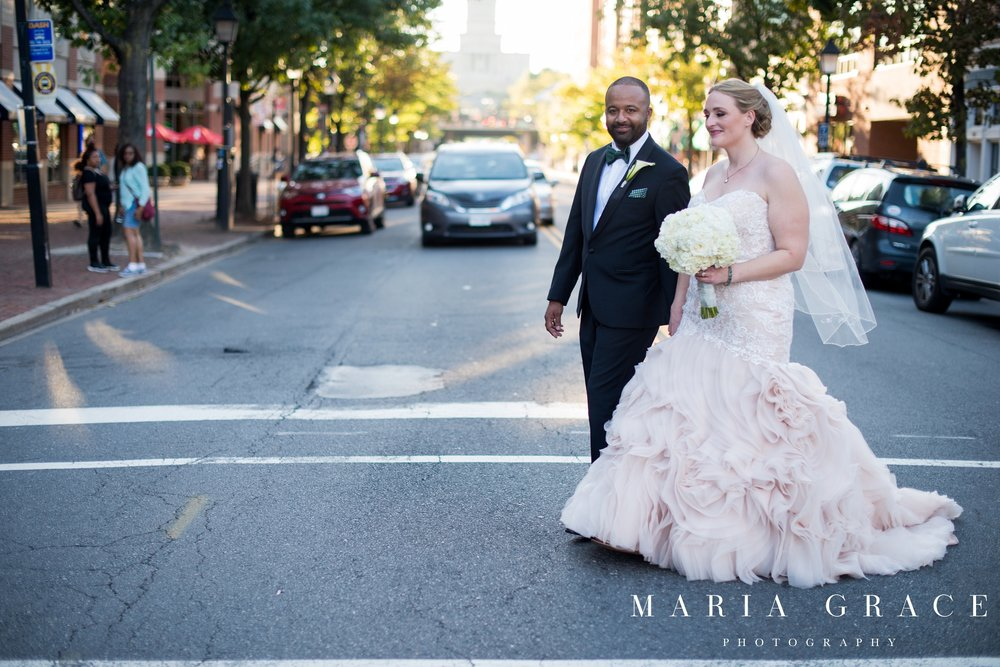Jessica + Ryan on September 23, 2017 ♥ Maria Grace Photography at The Lorien Hotel (Alexandria, VA)