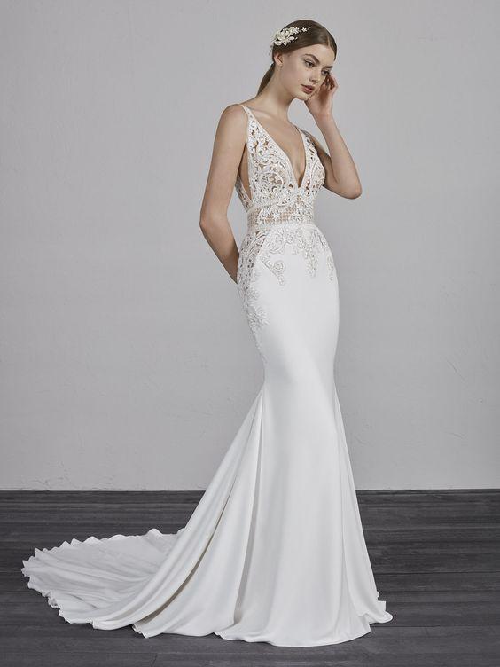 Try it on at Ellie's Bridal Boutique (Alexandria, VA) – Pronovias EMILY