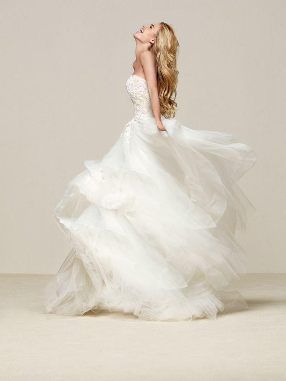 Try it on at Ellie's Bridal Boutique (Alexandria, VA) – Pronovias DRAVAL