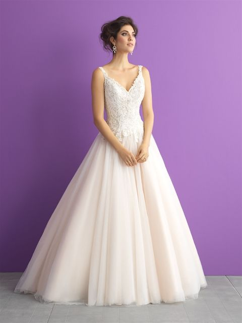 Try it on at Ellie's Bridal Boutique (Alexandria, VA) – Allure Romance 3015