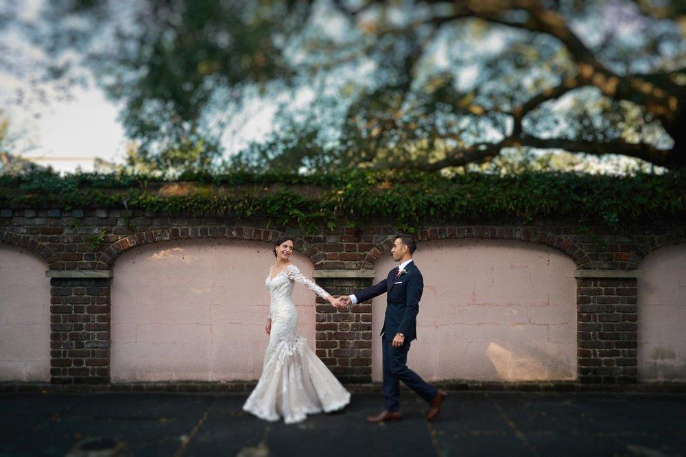 Carolyn + Mario on November 11, 2017 ♥ Nicholas Gore Weddings at Parsonage at St. Johannes (Charleston, SC)