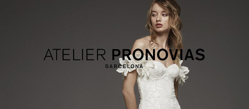 Find Atelier Pronovias wedding gowns at Ellie's Bridal Boutique (Alexandria, VA)