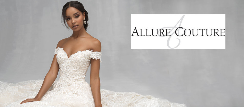 Find Allure Couture wedding dresses at Ellie's Bridal Boutique (Alexandria, VA)