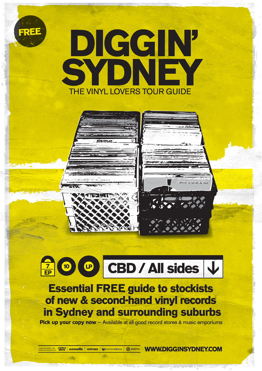 Diggin' Sydney Free Record Store Guide