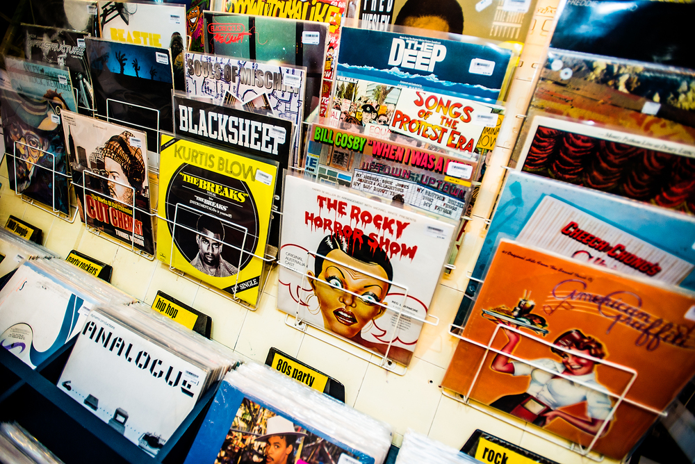 Vinyl Rarities : Record Store, Darlinghurst.