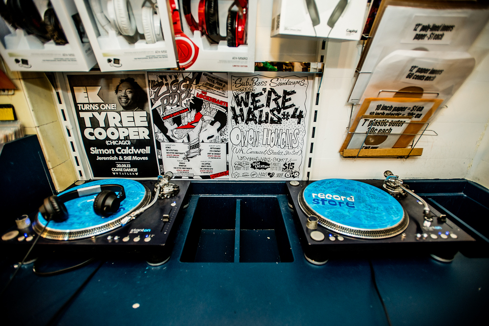 Listening Stations : : Record Store, Darlinghurst.