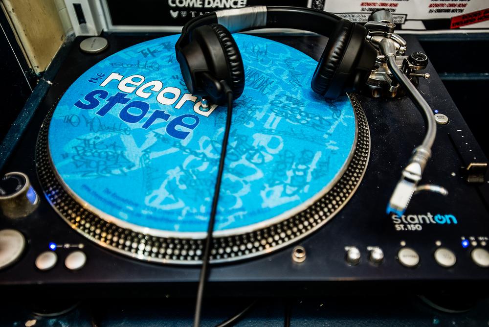 Stanton Deck : Record Store, Darlinghurst.
