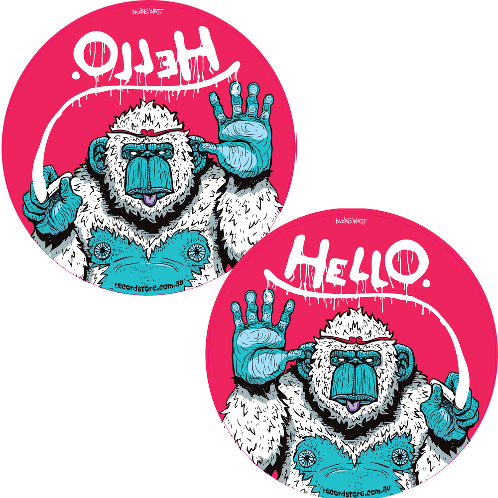 PAIR - Hello, Monkey - $40