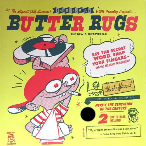 Baby Butter Rug Black - $35