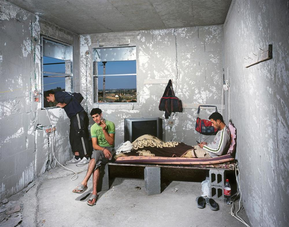 Nashaat, Mohammad and Hasim, 2011, inkjet print, 110X140 cm