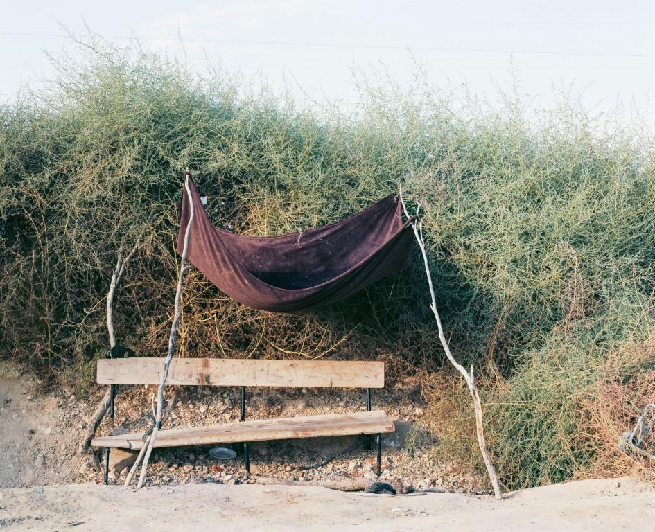 Abdelrazik's Bench, 2014, Inkjet print, 130X160 cm