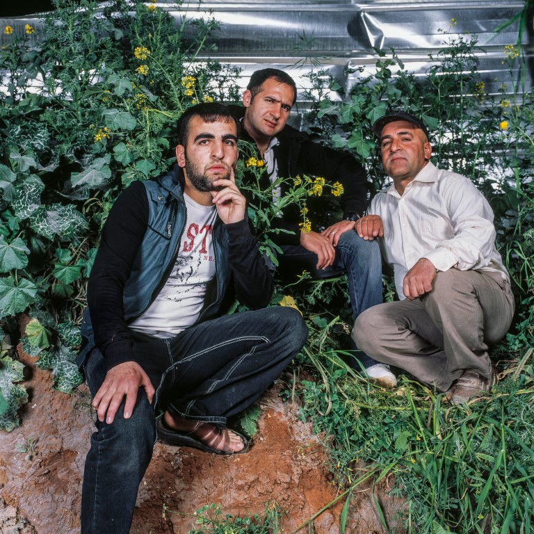 (The late) Abu Hamdan, Wagdi and Eyad, 2012, Inkjet print, 80 x 80 cm