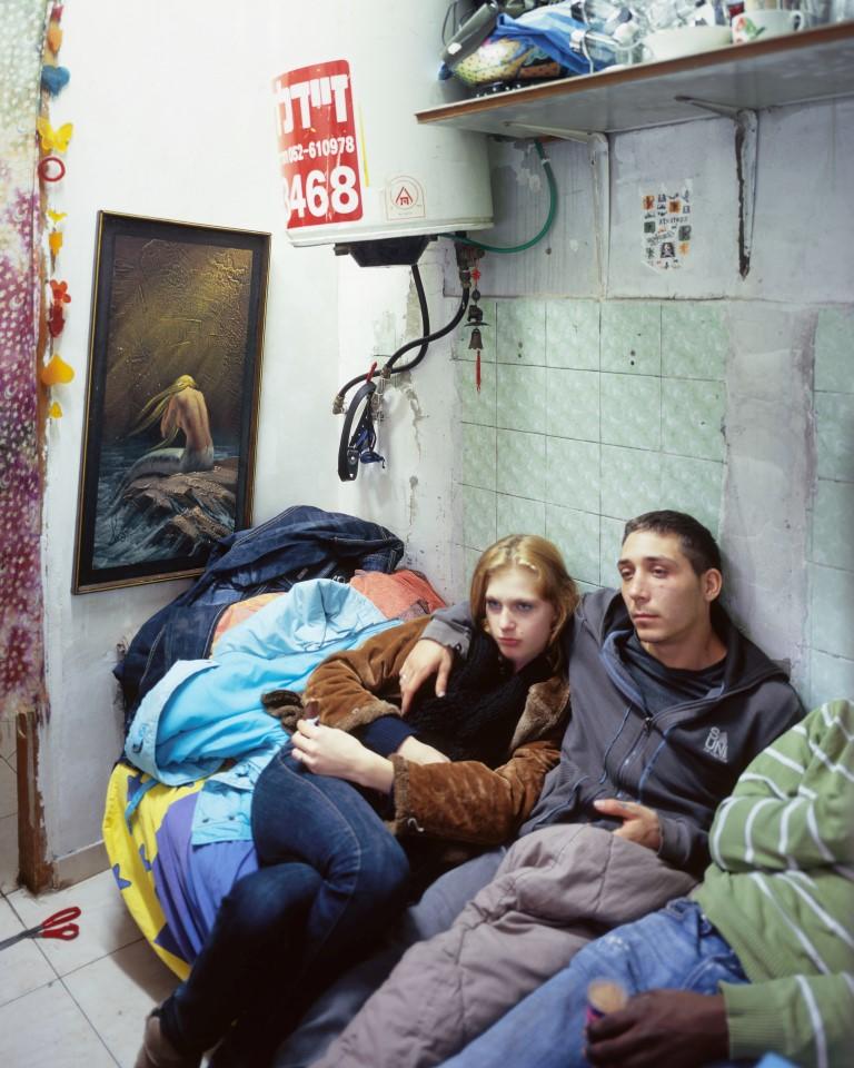 Eli, Yuliana and Igal, 2012, Inkjet print, 100 x 80 cm