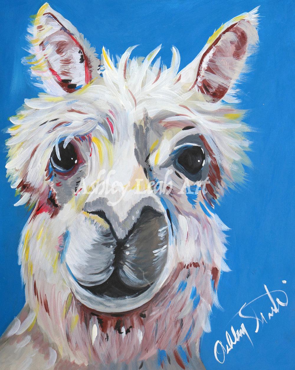 Alex the Alpaca -