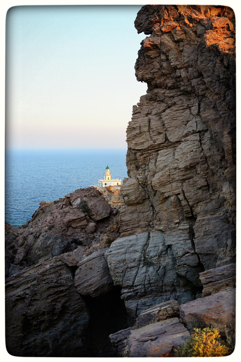 The Faros lighthouse.